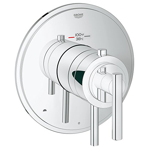 - Grohflex Timeless Dual Function Thermostatic Trim With Control Module