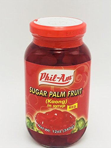 Sugar Palm Fruit Red (Kaong Red) (3 pack)