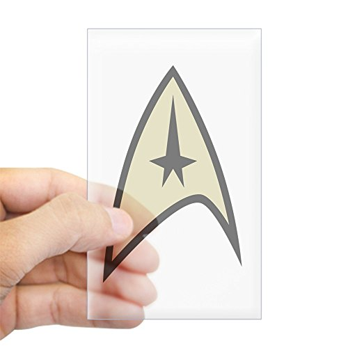 CafePress - Command Uniform - Rectangle Bumper Sticker Car (Buy Starfleet Uniform)