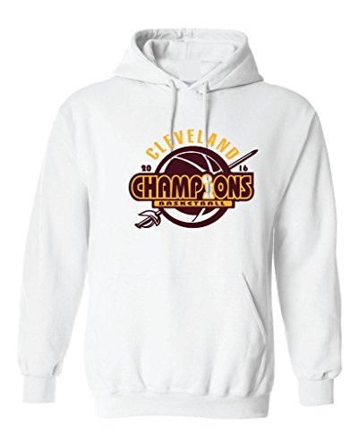Local Imprint Men's Champions Cle Hoodie M White