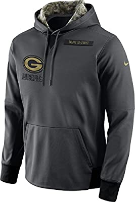 Green Bay Packers 2016 Nike NFL Salute to Service Hoodie (3XL)