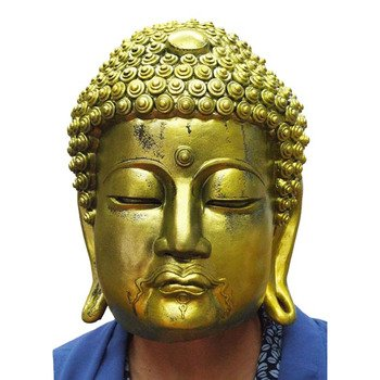 Ogawa Studio - Golden Great Buddha Rubber Mask (Made in Japan) -