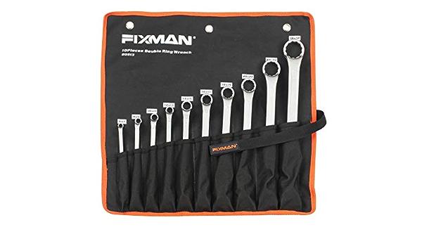 10-teilig FIXMAN FX-B0913 6-32mm Doppelringschlüssel