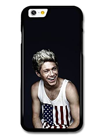 AMAF © Accessories Niall Horan American Flag Smiling 1D One Direction case for iPhone 6 (One Direction Phone Case Cheap)