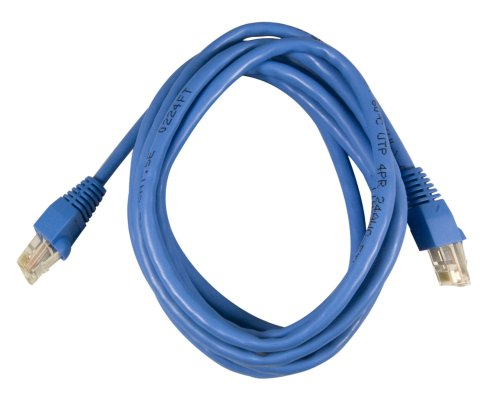 Photo - On-Q AC3650BEV1 Cat 6 Patch Cable, 50Feet, Blue