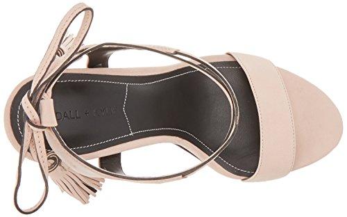 Kendall and Kylie KKELLERY/03, Sandalias de Tacón Mujer Rosa (Blush 10 Nubuck)