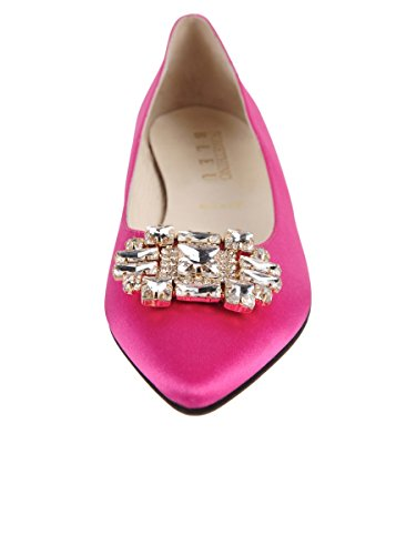 Chaussures À Beurre Womens Chancey Flat Hot Pink