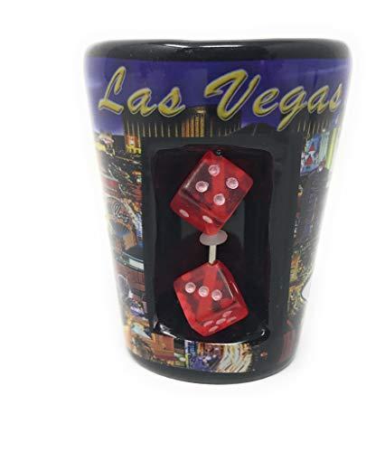 - Las Vegas souvenir Shot glass dice