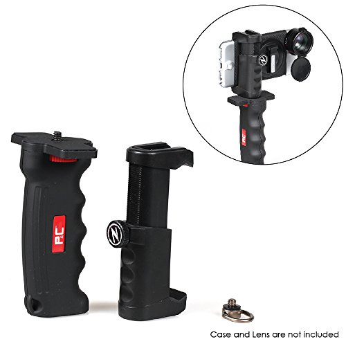 Ztylus PISTOL GRIP KIT for your Smartphone - Ergonomic Stability / Tripod & Cold Shoe Mount for Camera or Phone / Easy Adjust & Clamp / Versatile Attachment / Professional Photo & Video Shots (Iphone 4 Case Pistol)