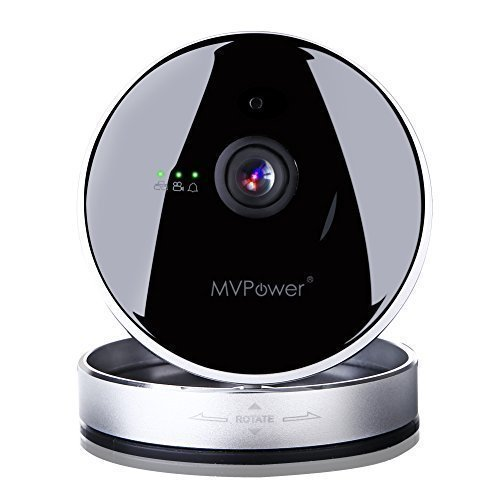 MVPower Wireless IP Camera HD 720P for Home Security, Baby/Pets Monitor,  Surveillance, Night Vision, Motion Detection, Mobile Remote Viewing