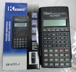 Kenko kenko kk-105b 10 digit scientific calculator with time.
