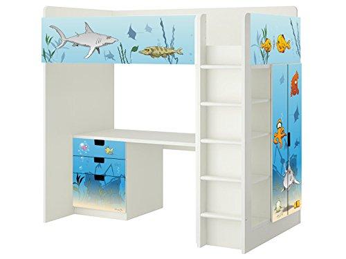 Kinderzimmer junge ikea hochbett  Unterwasserwelt Aufkleber - SH07 - passend für die Kinderzimmer ...