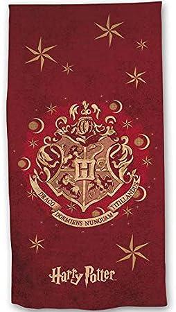 AYMAX S.P.R.L Harry Potter Serviette de Bain ou de Plage 100/% Coton 70x140 cm