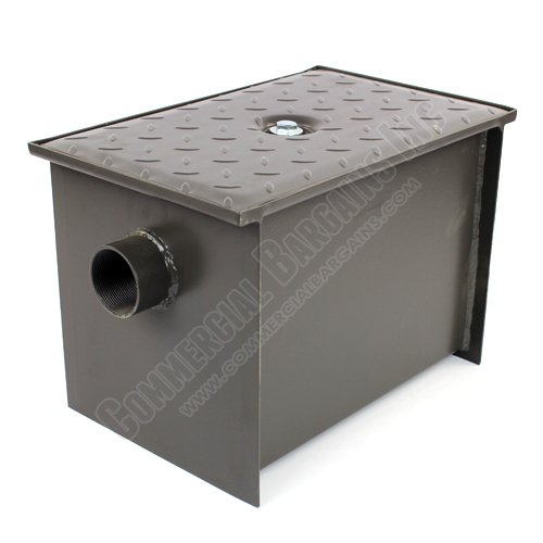 WentWorth 8 Pound Grease Trap Interceptor 4 GPM Gallons Per Minute WP-GT-4