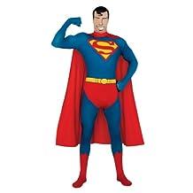 Rubies Costume DC Comics Adult Superman 2nd Skin Zentai Super Suit