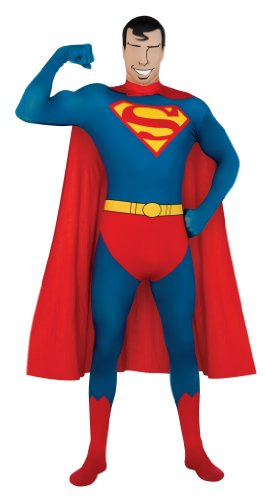 Rubies' Costume Co Dc Comics Adult Superman Second Skin Super Suit
