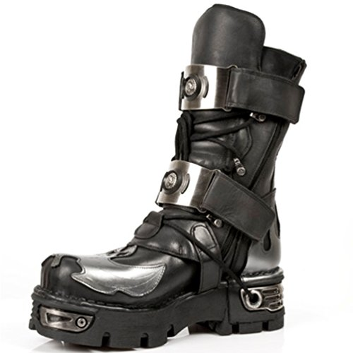 New NR 195 Rock Unisex S2 M Silber ROCK Stiefel NEW wHAYvq7x
