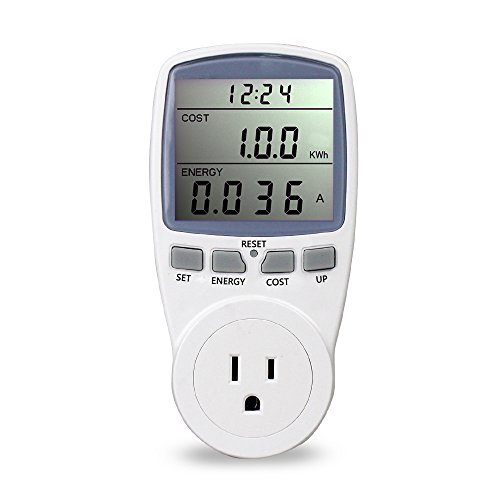 BALDR US Electricity Monitor, Power Energy Usage Meter, Kill A Watt Kill A Watt Power Monitor