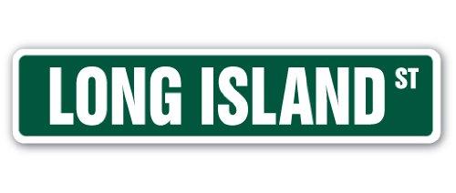 LONG ISLAND Street Sign LI LIC NY New