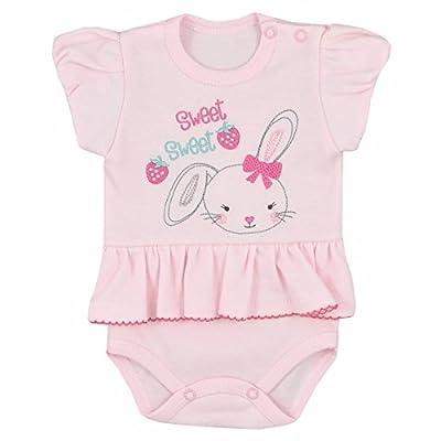 """'Body de bébé Lot de 2body manches courtes bébé Body Set Kit de Grenouillère Body de bébé grenouillère bébé """"Fraise Taille 80"""