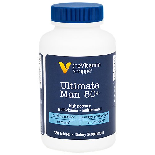 Ultimate Man 50 Multivitamin 180 Tablets by The Vitamin Shoppe