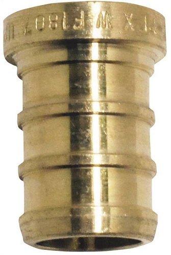 Plug Pex 1/2in Brass 50 Pack