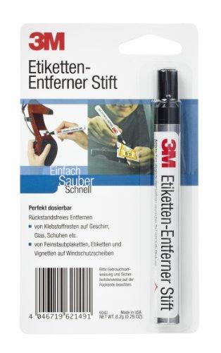 3M LABELREM Etiketten-Entferner Stift 8.2 g löst auch Reste von Klebstoffen und Vignetten