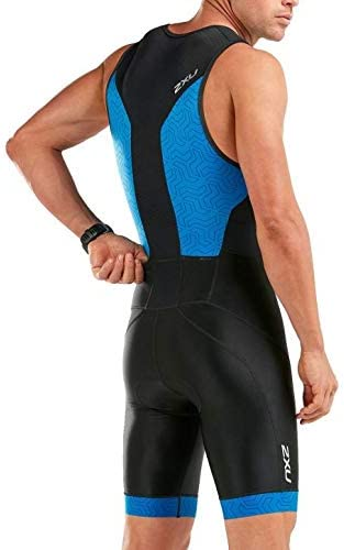 2XU Herren Perform Front Zip Trisuit Triathlon Einteiler