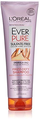 L'Oréal Paris EverPure Sulfate Free Frizz Defy Shampoo, 8.5 fl. oz.