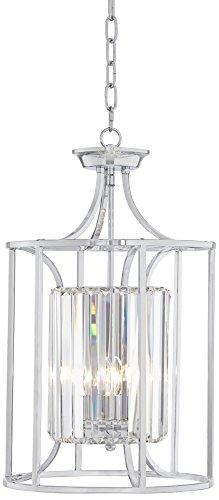 Chrome Lantern Pendant Light in US - 8