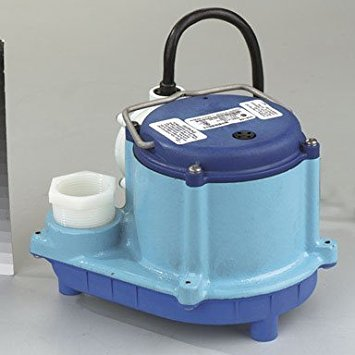 - Little Giant 6-CIA Automatic Submersible Sump Pump, 115V, 1/3HP, 10' cord