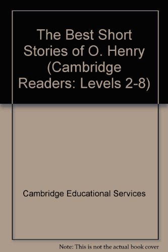 Download The Best Short Stories of O. Henry (Cambridge Readers: Levels 2-8) ebook