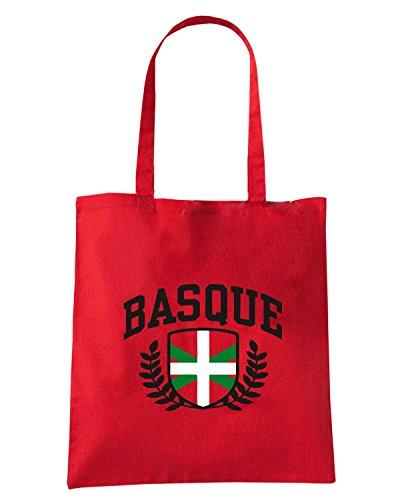 T-Shirtshock - Bolsa para la compra TSTEM0224 basque Rojo