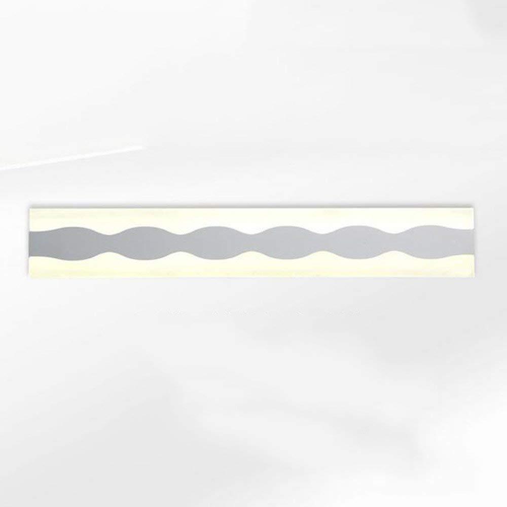 Fenciayao 浴室用ミラーランプ - モダンペイントアクリルバスルームledミラーフロントライトシンプルなバスルーム防曇ledキャビネットライト/ウォールランプ(43 cm-12 w (Color : Warm Light-43cm-12w)  Warm Light-43cm-12w B07RFCG2JD