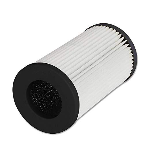 🥇 QUEENTY True HEPA Filter – Filtro purificador de Aire de Repuesto para el purificador de Aire Coche FC01