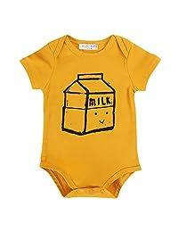 Sanlutoz Baby Bodysuits Unisex Newborn Clothes Summer Girls Romper Jumpsuit Boy