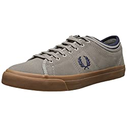 Fred Perry Men's Kendrick Tipped Cuff Suede Fashion Sneaker