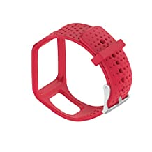 Chofit Repalcement Band for TOMTOM Runner / MultiSport / Golfer Silicone Sport Bands Strap Bracelets Wristband Accessory for TomTom Runner / MultiSport / Golfer Watch (5 colors)