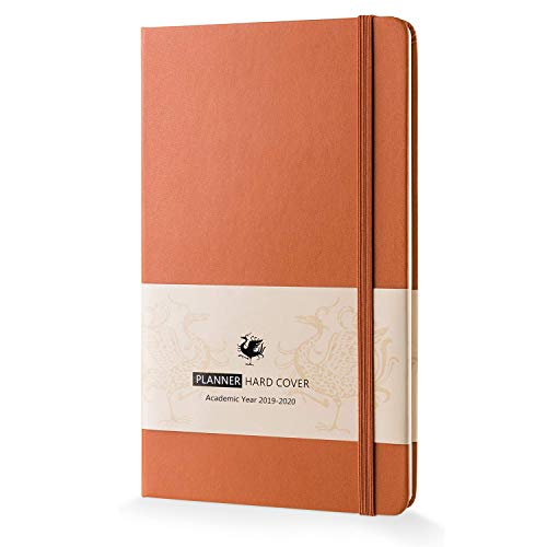 - Hardcover Academic Planner 2019-2020, Dexmon Daily Weekly Monthly Personal Organizer-5 x 8.2 Inches