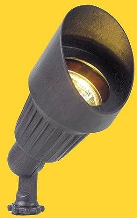 CORONA LIGHTING 12V CL-505-BK  MINI BULLET LANDSCAPE LIGHT W//SHROUD   BLACK
