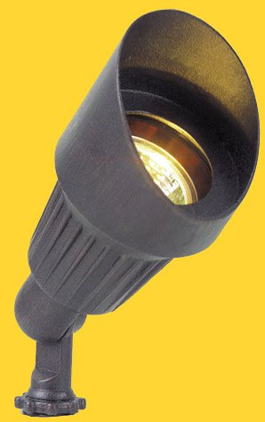 Corona Lighting CL-501-BK 50W Low Voltage Aluminum Mini Bullet Directional Light w/Shroud - Black Corona Lighting Accessories