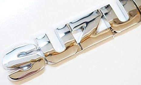 Cromado Puerta trasera Insignia Emblema 155x25mm Puerta Delantera Ala