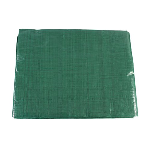 SGT KNOTS Waterproof Tarp 8 x 10 feet 8 mil Thickness - All Weather/Purpose Reversible Green/Silver Poly Tarp - Rust-Proof Grommets - Reinforced Edges - Camping, Tent Fly, Painting, Canopy, Cover by SGT KNOTS