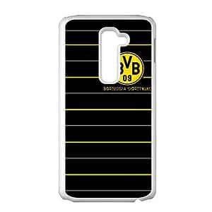 BVB 09 Borussia Dortmund White LG G2 case