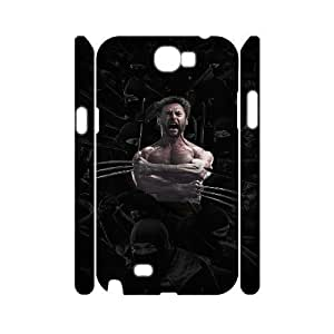 C-EUR Wolverine Customized Hard 3D Case For Samsung Galaxy Note 2 N7100