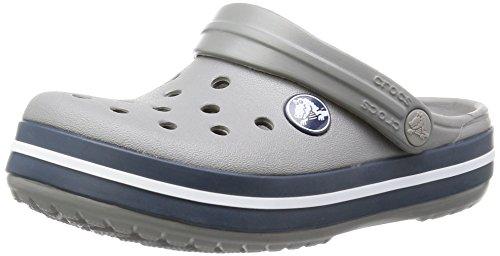 Zoccoli – Crocband navy Crocs smoke Grigio Unisex Kids Bambini PfBExTq1w