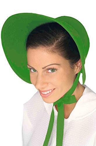 (Forum Novelties Felt Bonnet, Green)