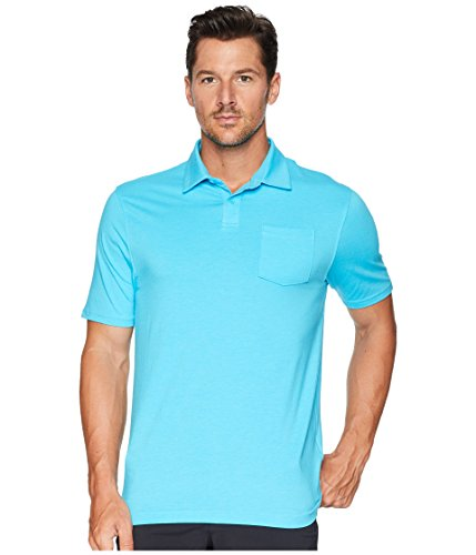 Under Armour Golf Men's New Charged Cotton¿ Scramble Polo Alpine/Alpine XX-Large ()