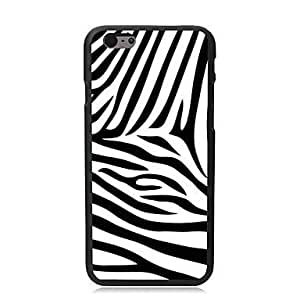 """For iPhone 6 Case, Fashion Fashion Zebra Pattern Protective Hard Phone Cover Skin Case For iPhone 6 (4.7"""") + Screen Protector"""