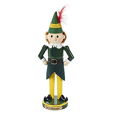Kurt Adler 11 in. Wooden Buddy the Elf Nutcracker